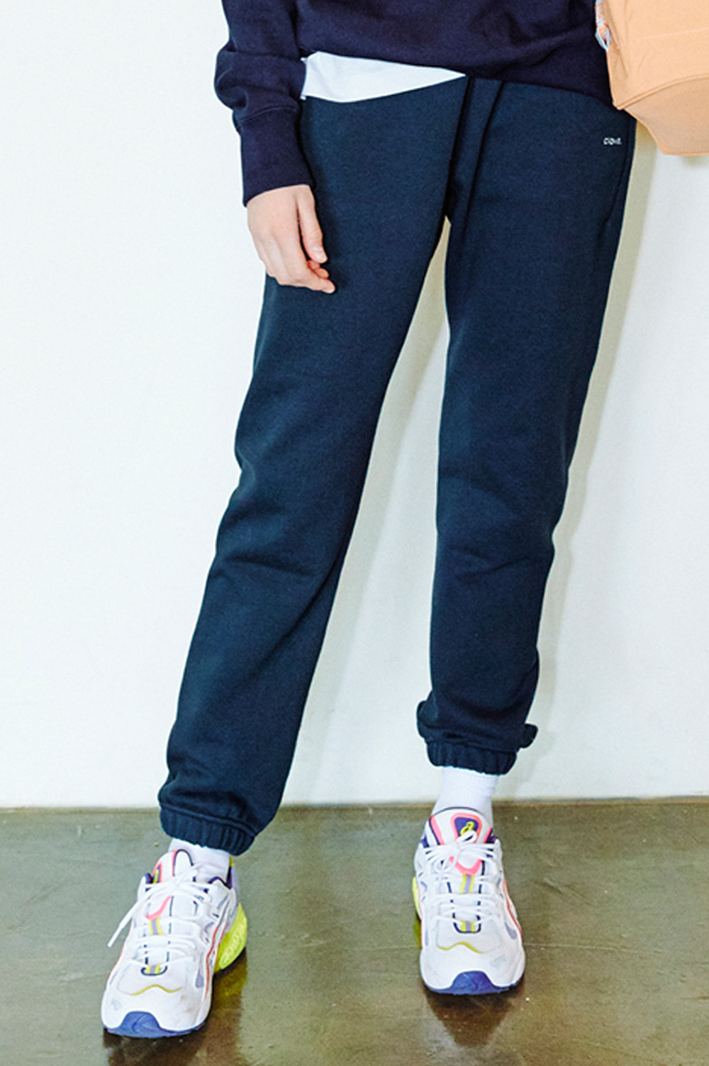 [6/22(월) 예약배송] Active Sweat Pants _Women (Navy)