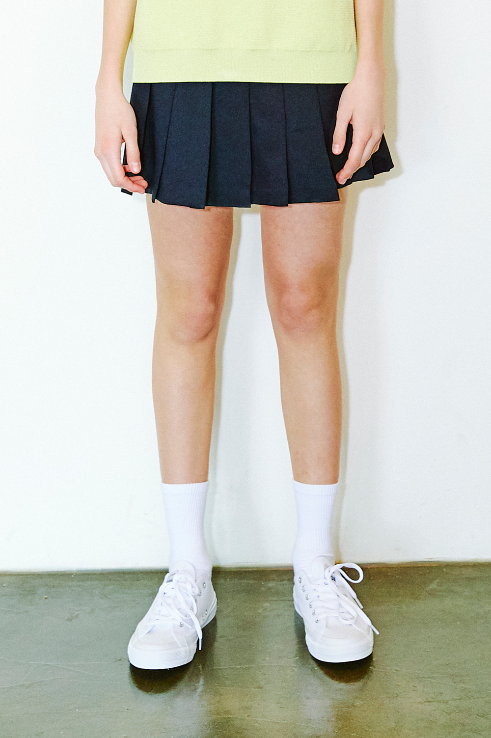 Active Pleated Skirt (navy)
