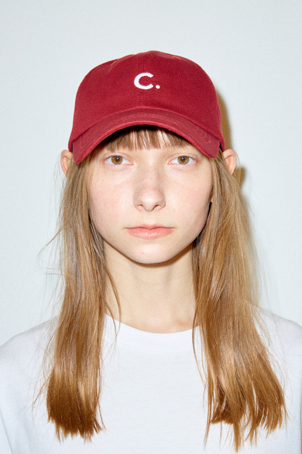 Basic Fit Ball Cap  (Burgundy)