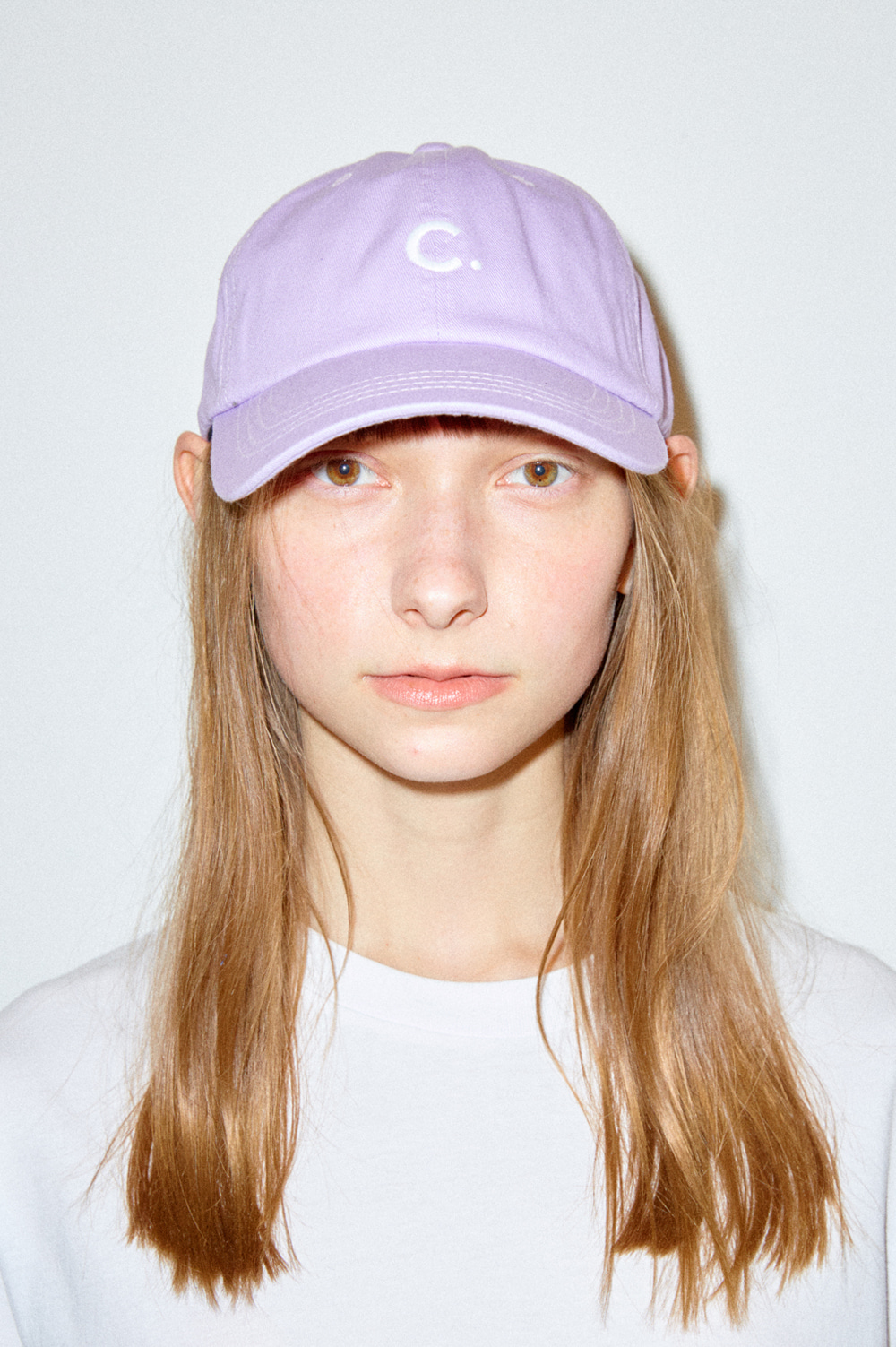 Basic fit ball cap (lavender)