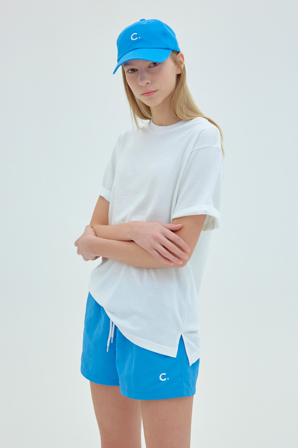 Summer Shorts _Women  (Blue)