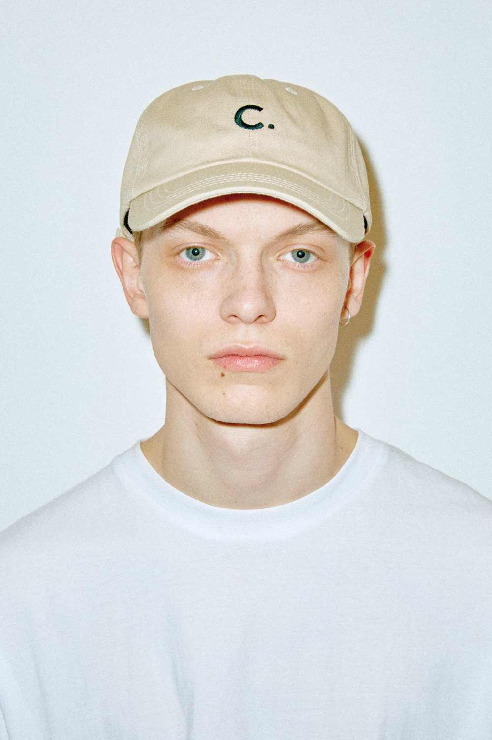 Basic Fit Ball Cap (Beige)