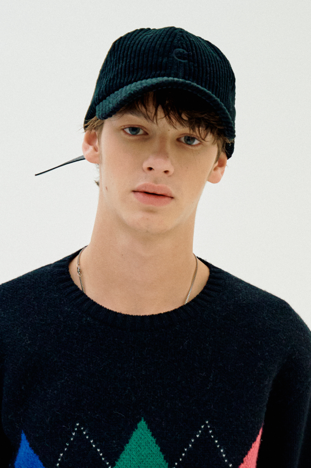 Basic Fit Ball Cap (Corduroy Black)