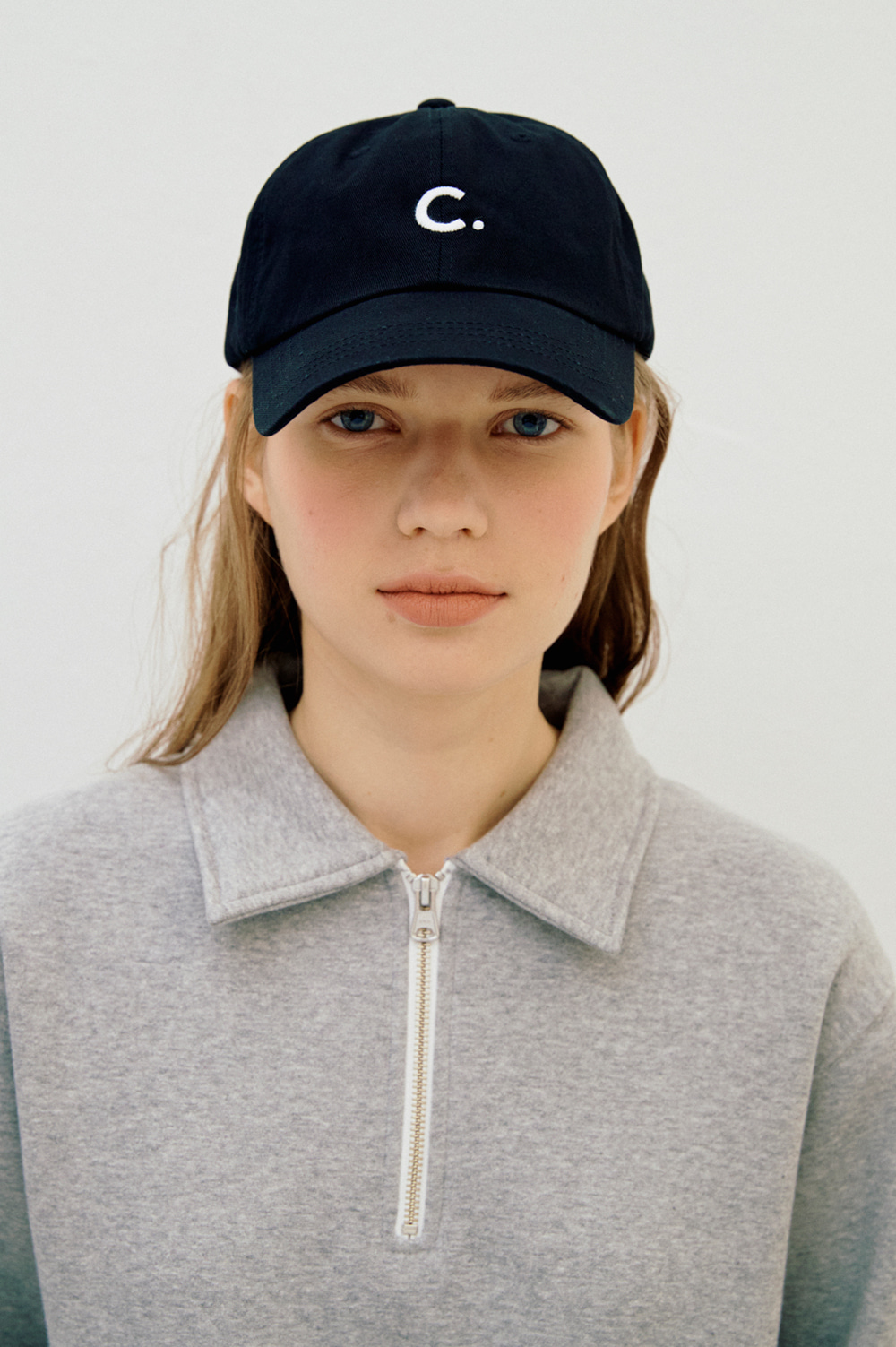 Basic fit ball cap (Black)