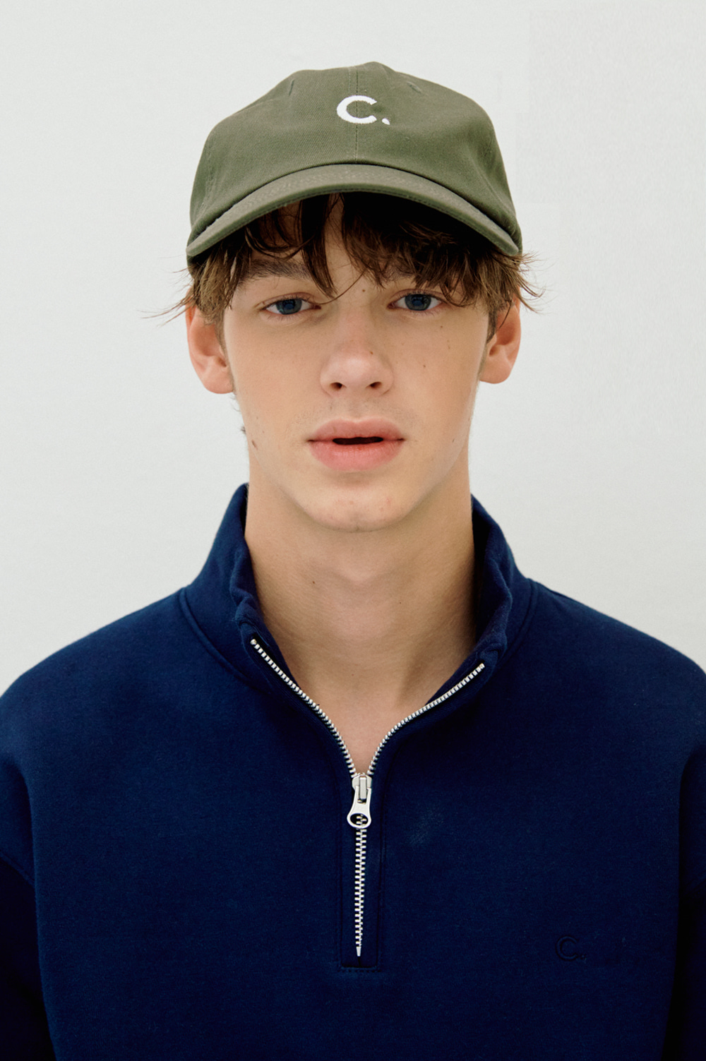 Basic Fit Ball Cap (Khaki)