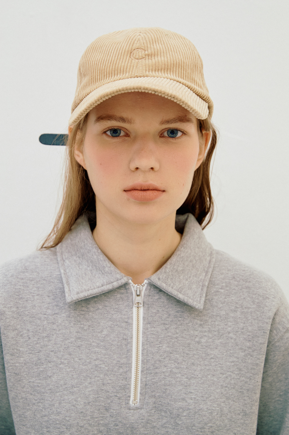 Basic Fit Ball Cap (Corduroy Brown)