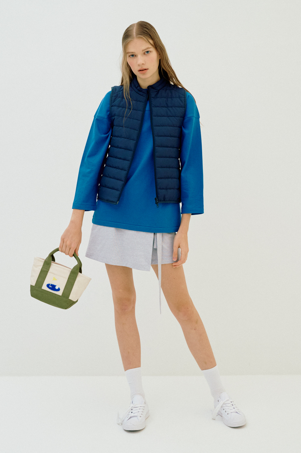 Light Warm Vest _Women (Darknavy)