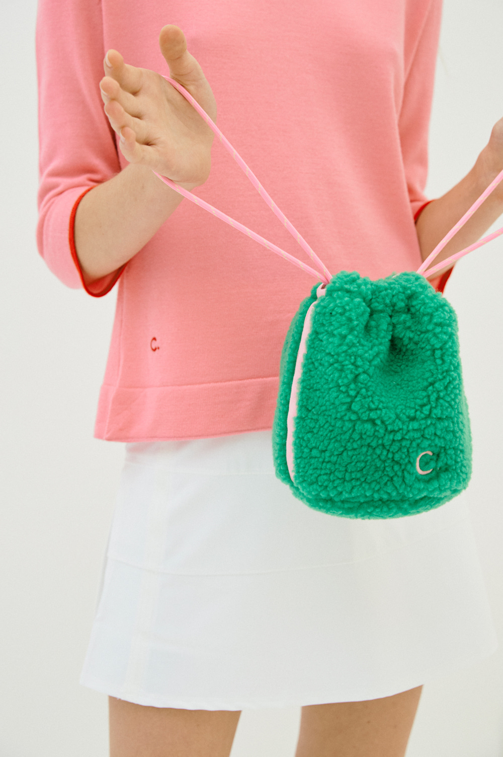 Teddy Bear Bag (Green)