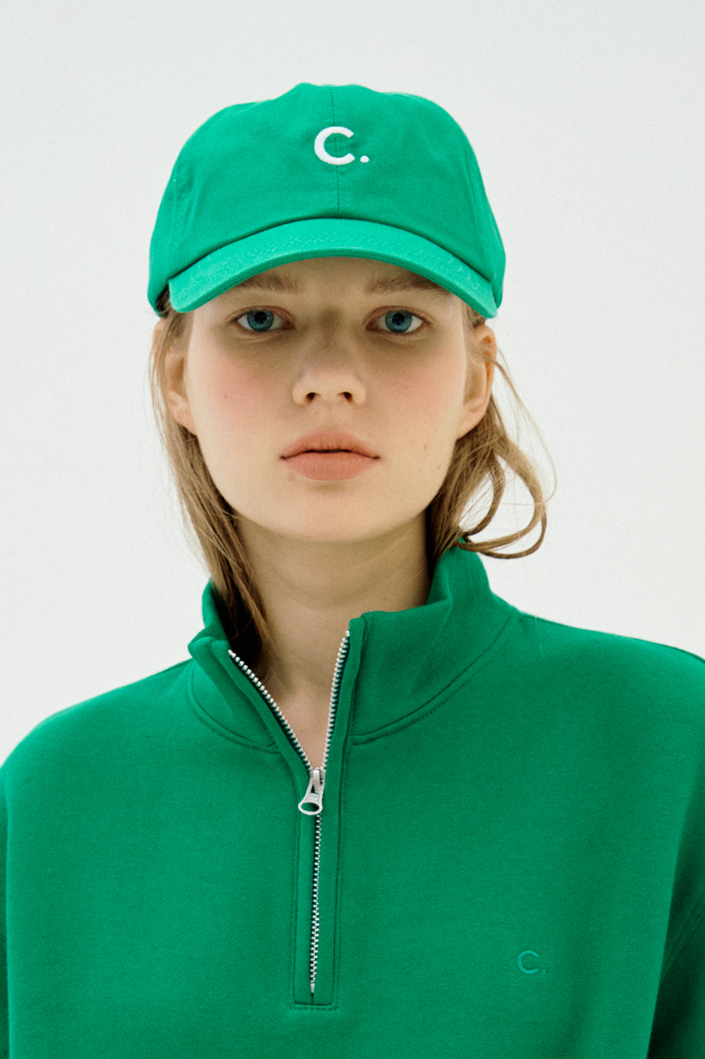 [2차리오더] Basic Fit Ball Cap (Green)