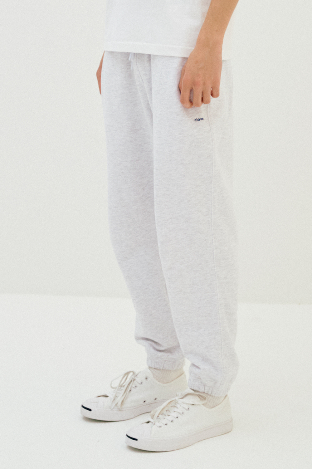 clove - [이효리 착용]Active Sweat Pants_Men (Light Grey)