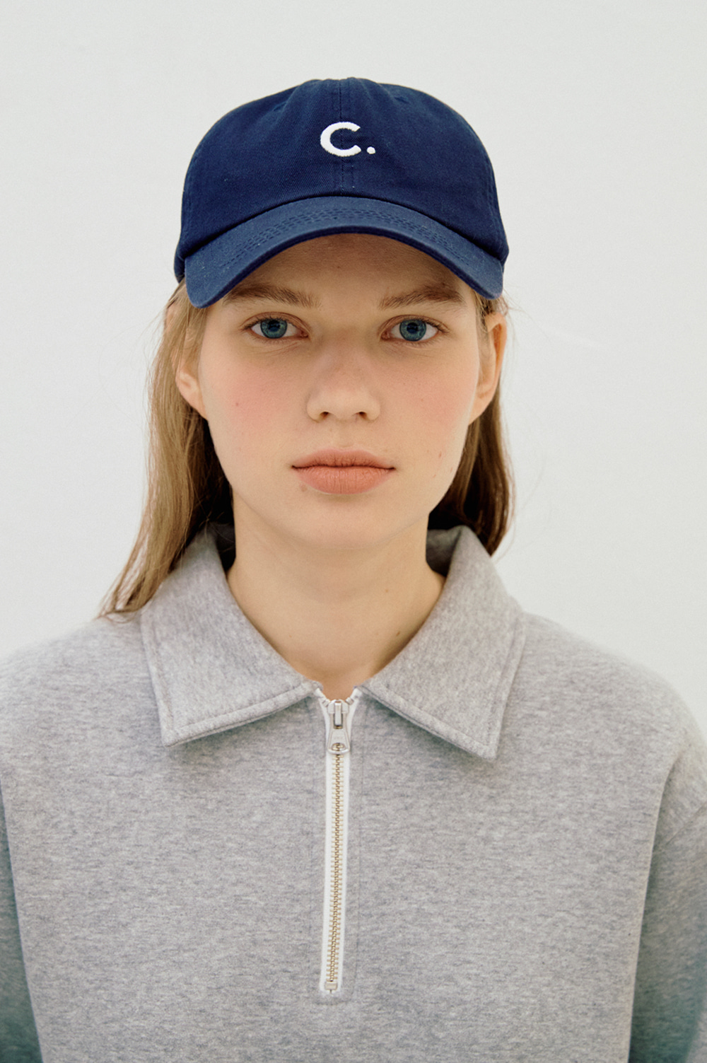[11/1(금)예약발송]  Basic Fit Ball Cap (Navy)