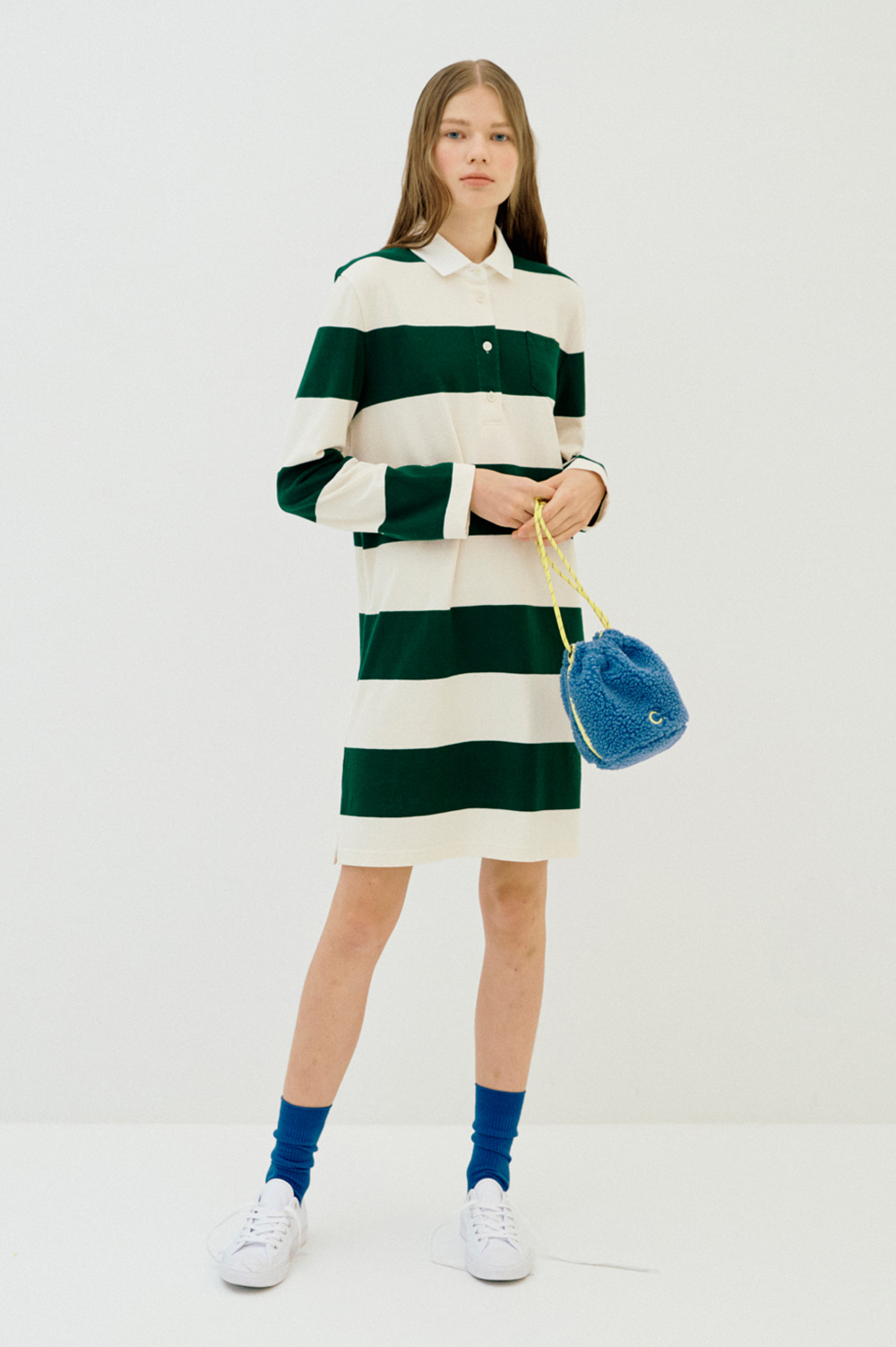 Stripe Rugby Dress_Women