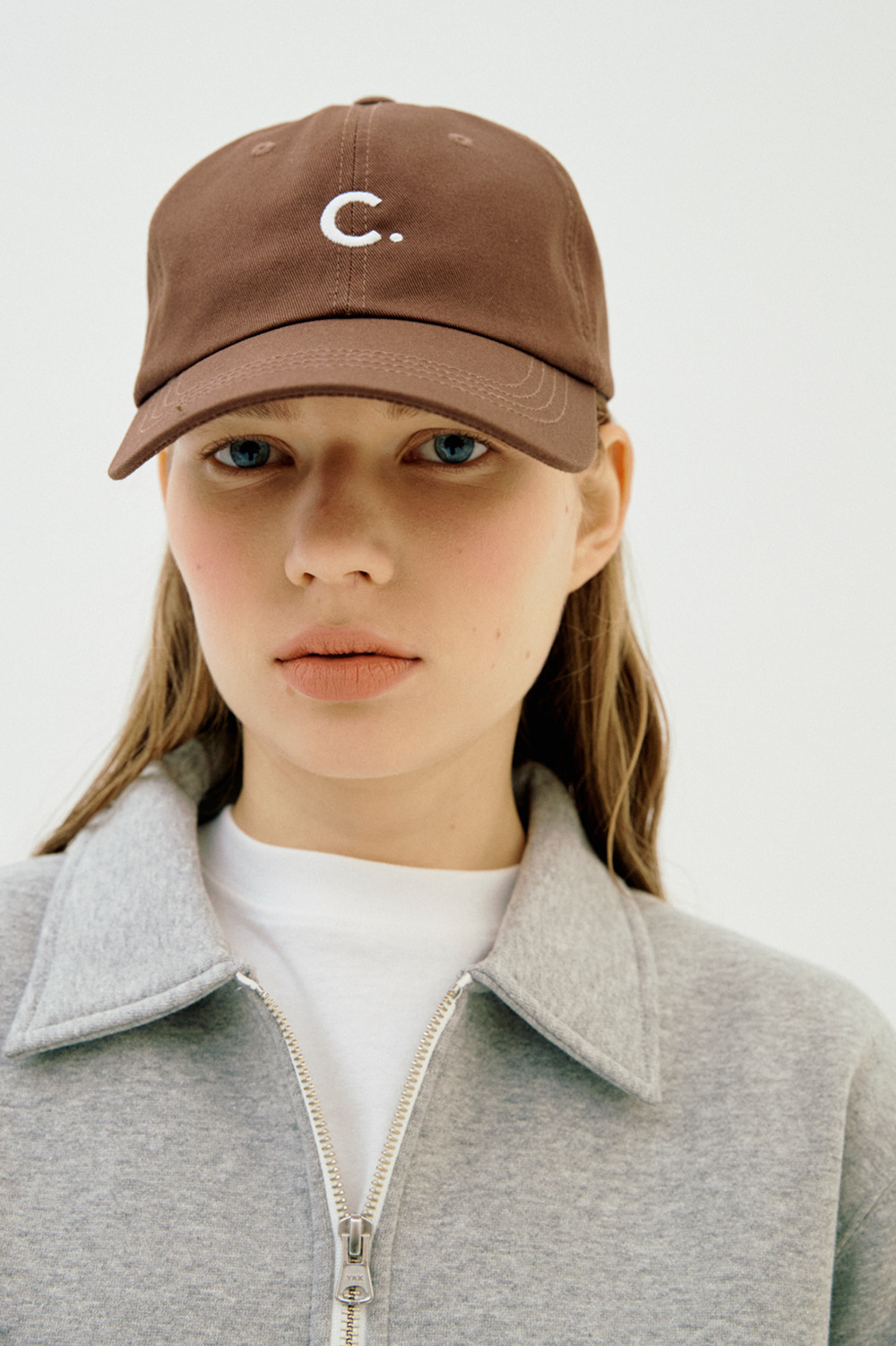 Basic Fit Ball Cap (Brown)