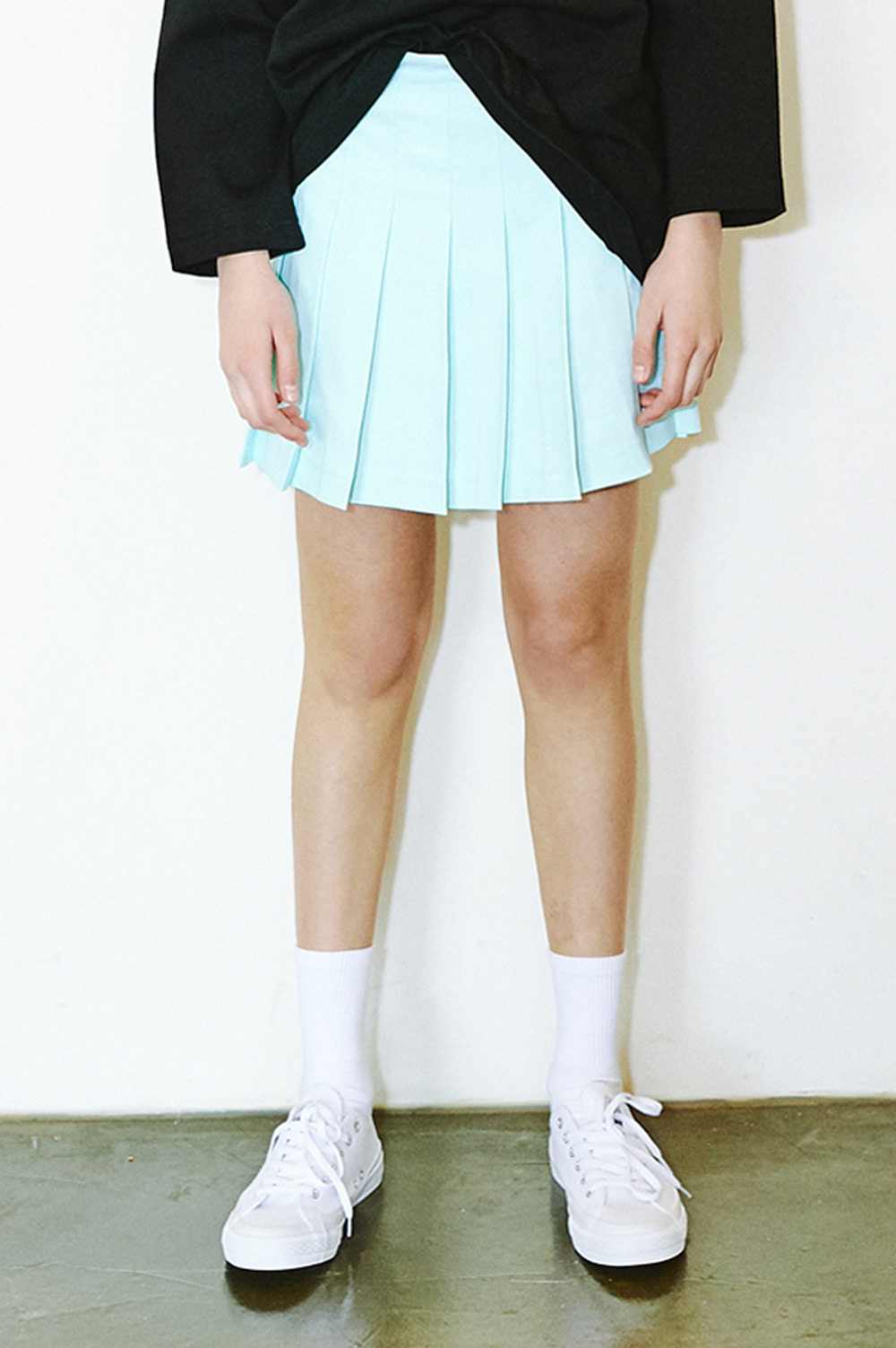 Active Pleated Skirt (Mint)