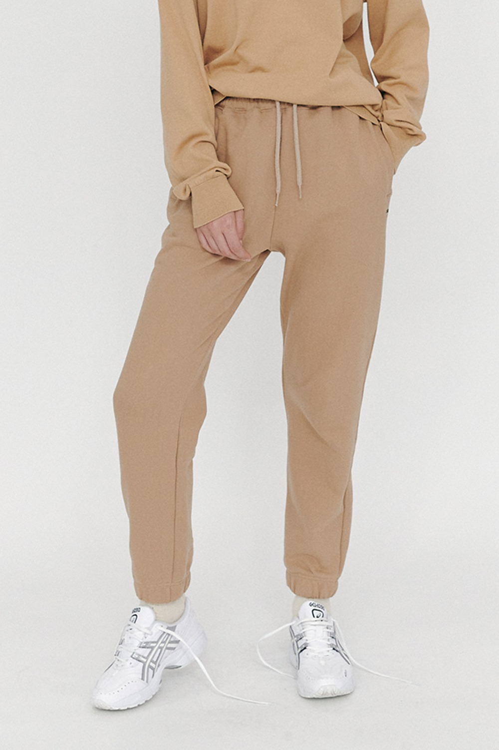 clove - New Active Sweat Pants (Beige)