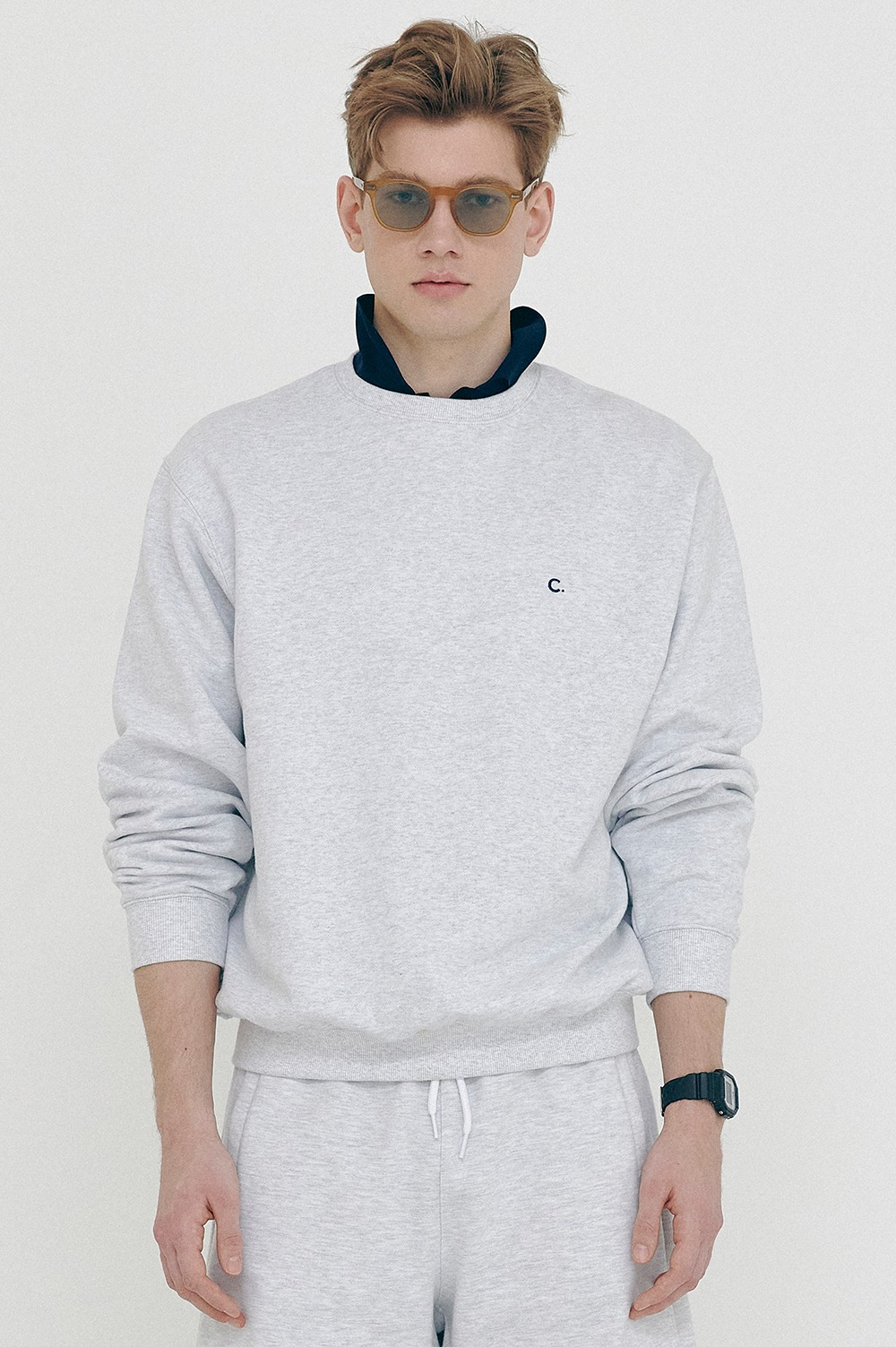 clove - Active Sweatshirts_Men (Light Grey)