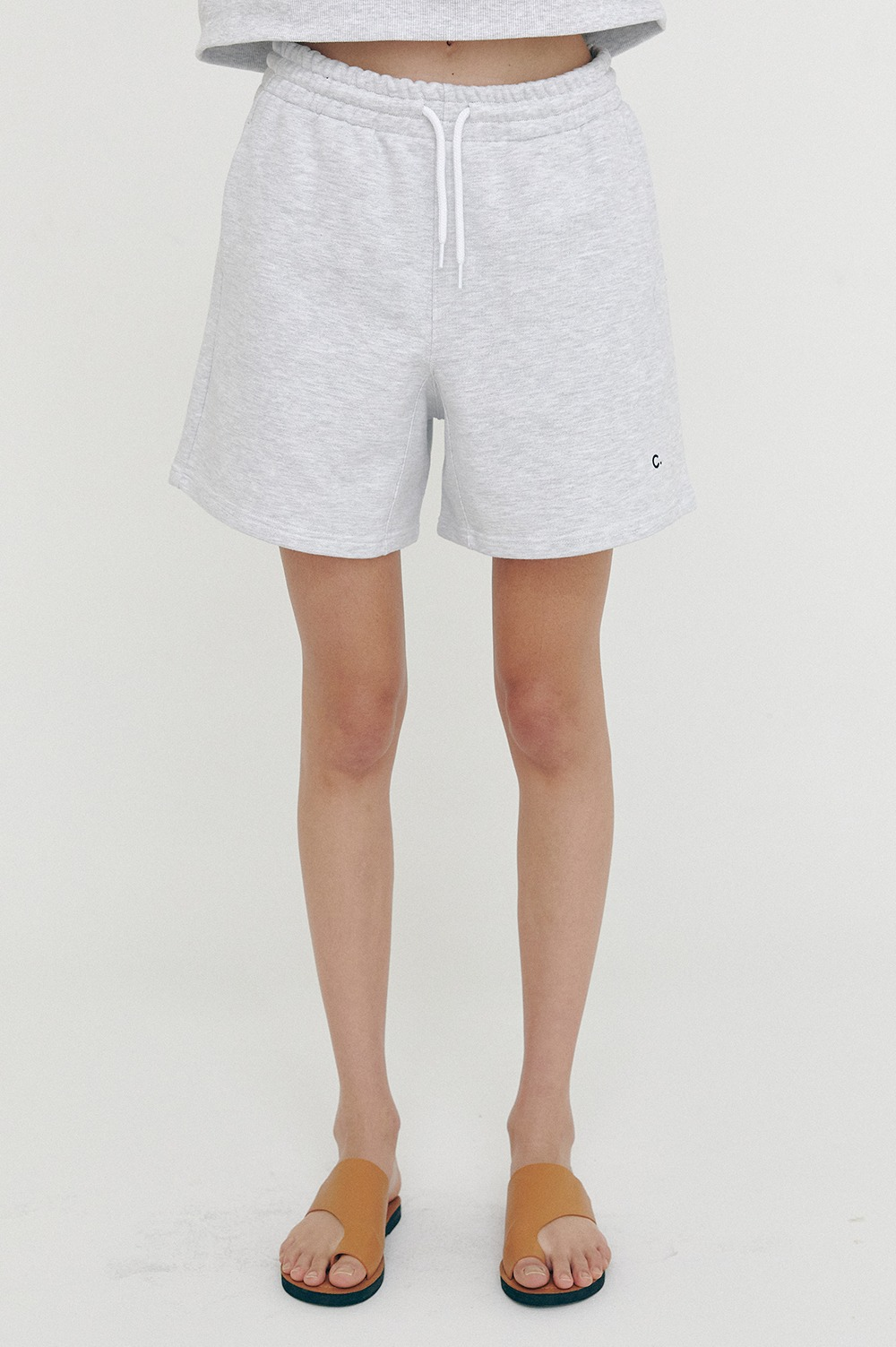 clove - [SS21 clove] Active Short Pants_Women Light Grey