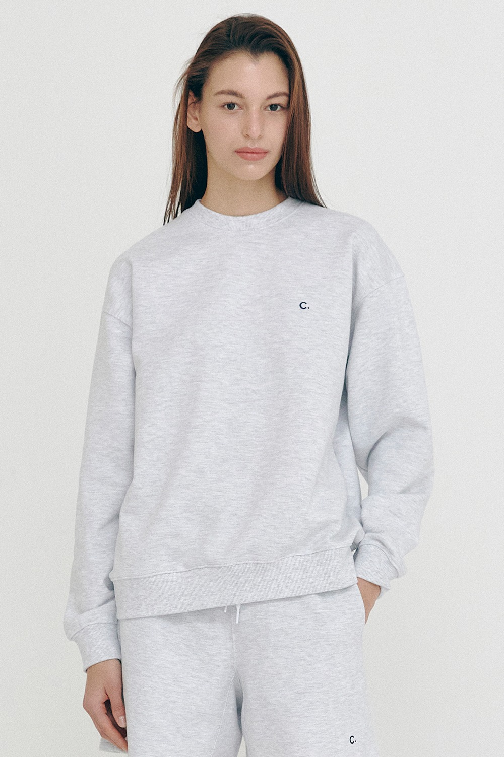 clove - Active Sweatshirts_Women (Light Grey)