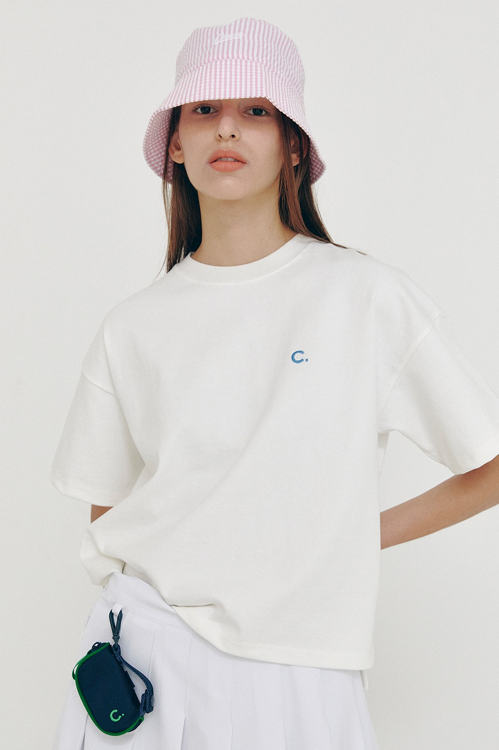 clove - [5/14(금) 예약배송][SS21 clove] Logo Short T-Shirt White