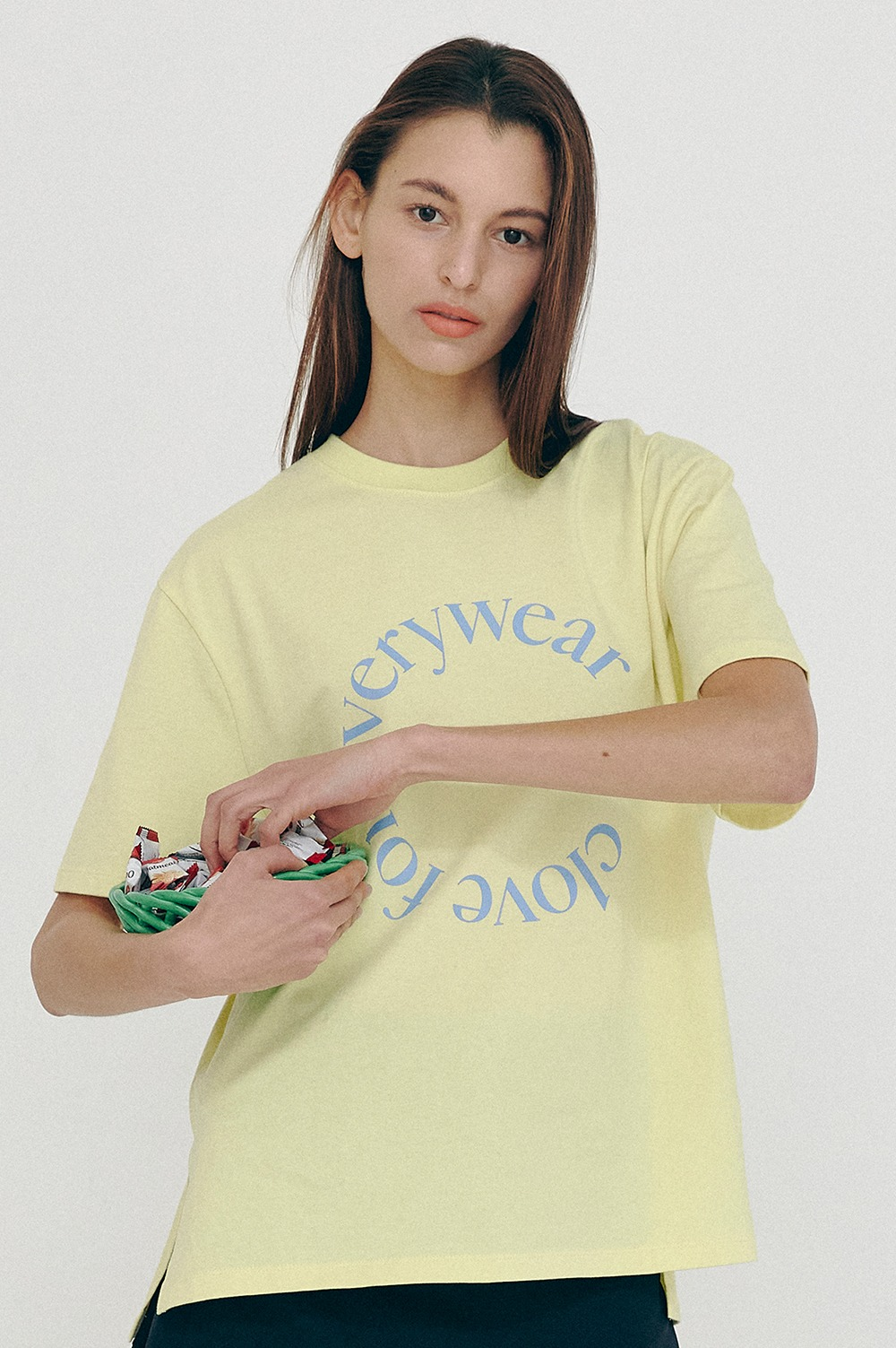[SS21 CLOVE] Everywear T-Shirt Lime