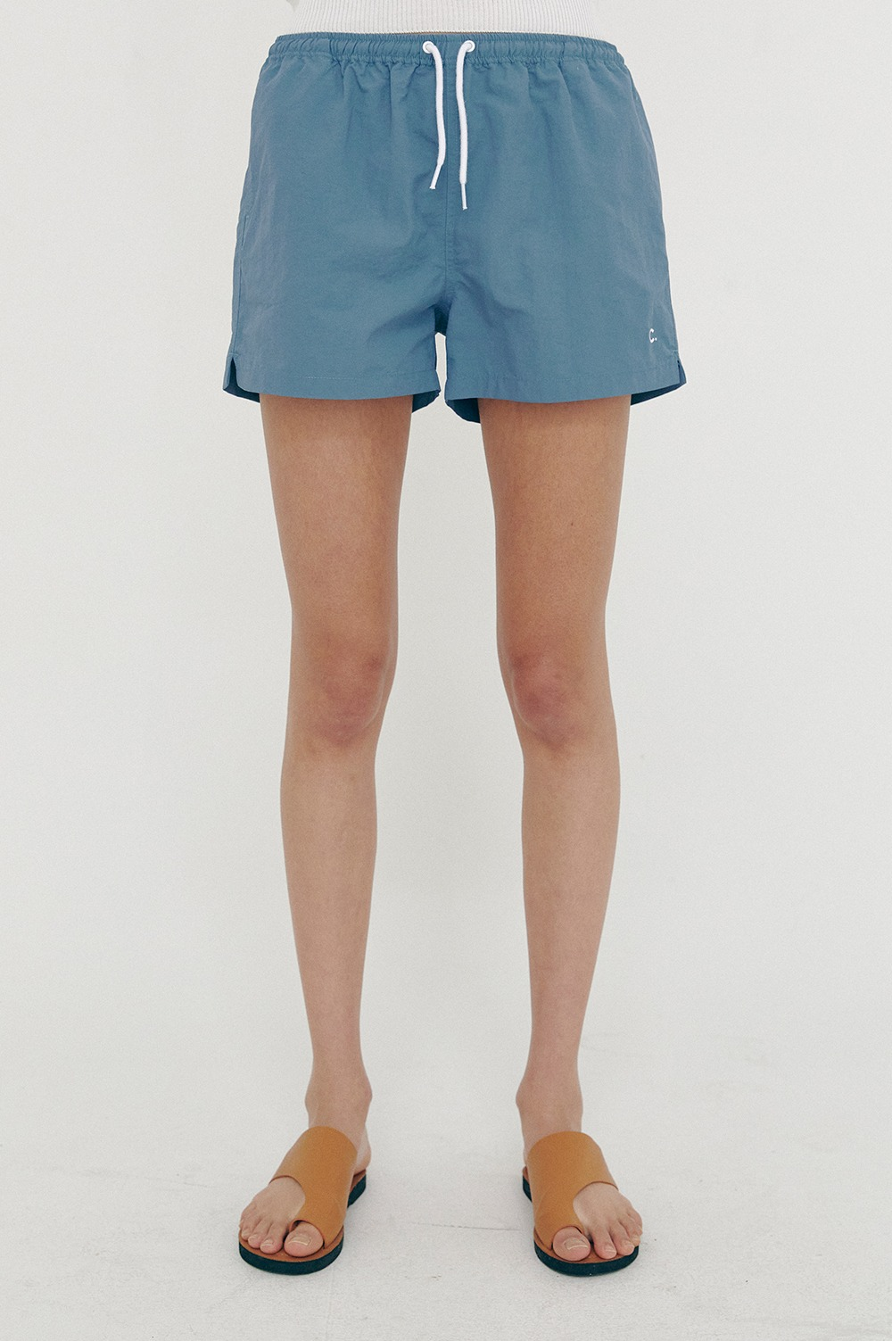 clove - [SS21 clove] New Summer Shorts_Women Blue