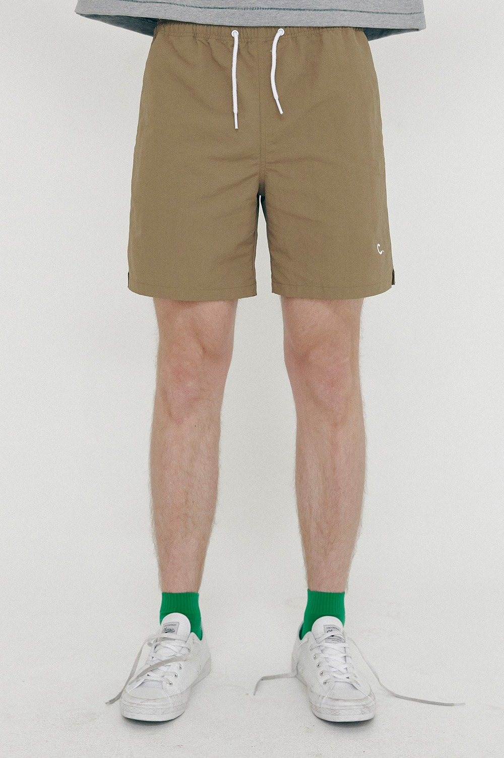 clove - [SS21 clove] New Summer Shorts_Men Khaki