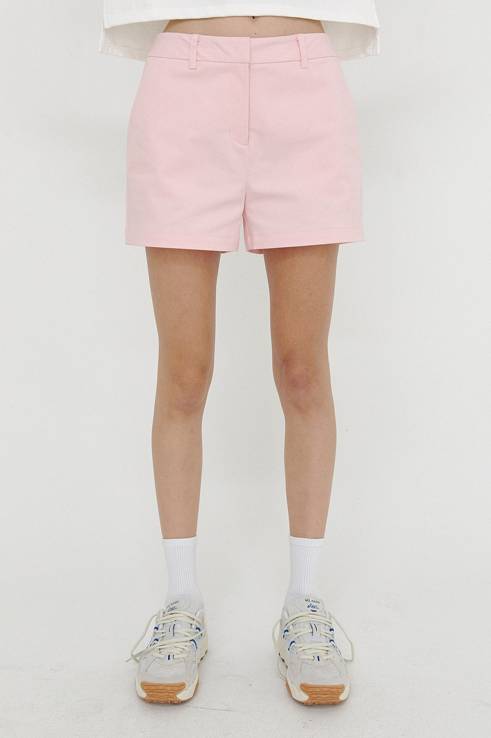 clove - [5/7(금) 예약배송][SS21 clove] Club Cotton Shorts Pink