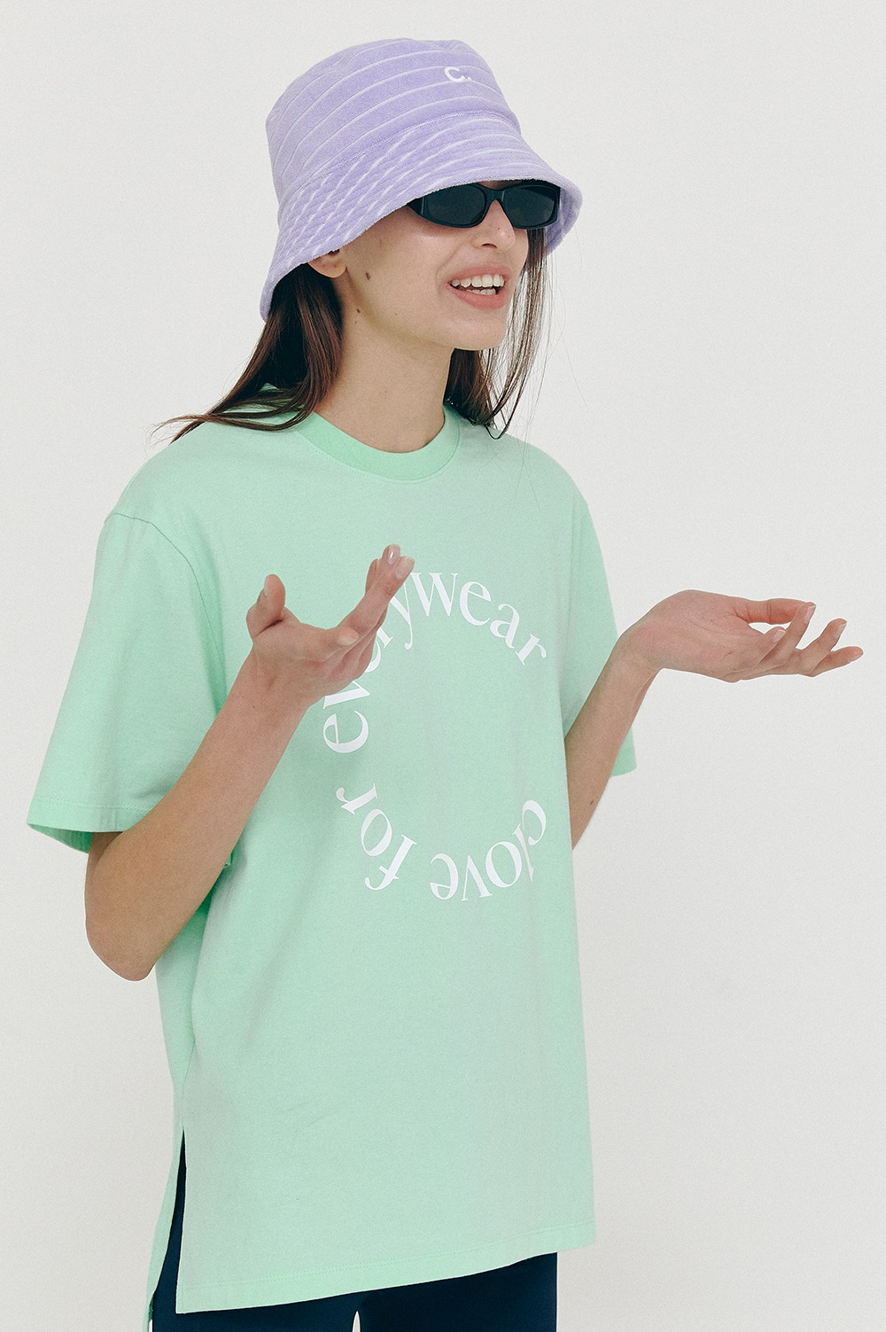 clove - [5/14(금) 예약배송][SS21 clove] Everywear T-Shirt Mint
