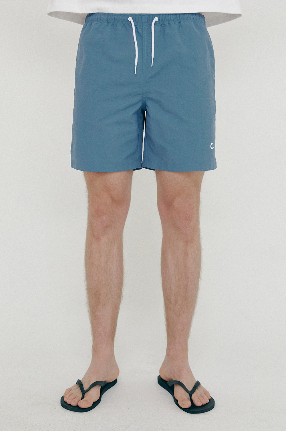 clove - [SS21 clove] New Summer Shorts_Men Blue